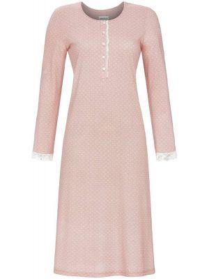 Roze nachthemd Ringella met kant