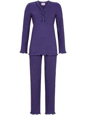 Ultramarijn stippen pyjama Ringella