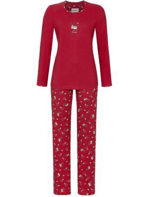 Kerst pyjama rood