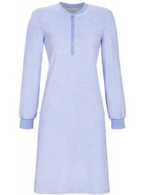 Blauw badstof nachthemd Ringella