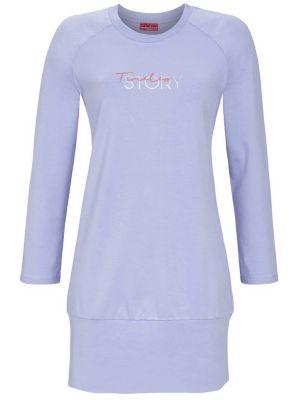 Sportief nachthemd lichtblauw Ringella