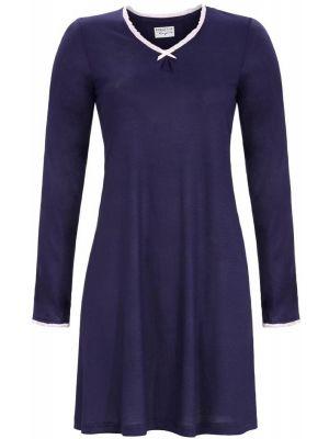 Donkerblauw nachthemd Ringella