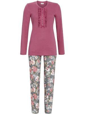 Warme pyjama met ruches Ringella