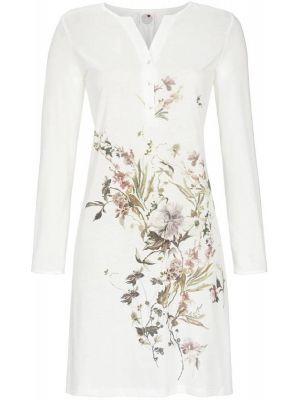 Sierlijk witte bloemen nachthemd Ringella