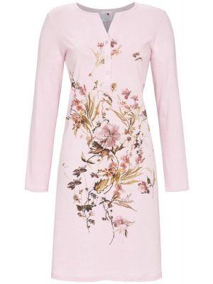 Sierlijk roze bloemen nachthemd Ringella