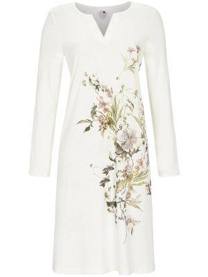 Witte sierlijke bloemen nachthemd Ringella