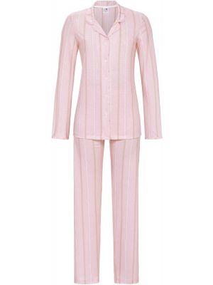 Roze doorknooppyjama Ringella