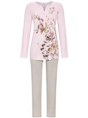 Sierlijk roze bloemen pyjama Ringella