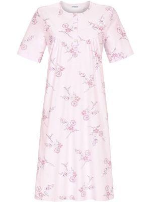 Klassieke nachtjapon pastel roze