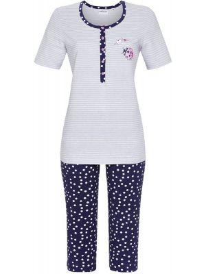 Zilveren Ringella pyjama lieveheersbeestje