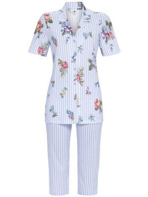 Ringella doorknoop pyjama met capribroek