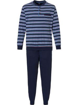 Heren pyjama blauw Robson