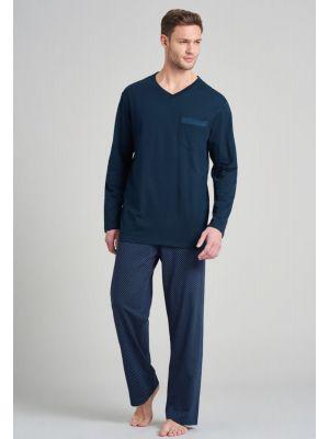 Katoenen heren pyjama Schiesser