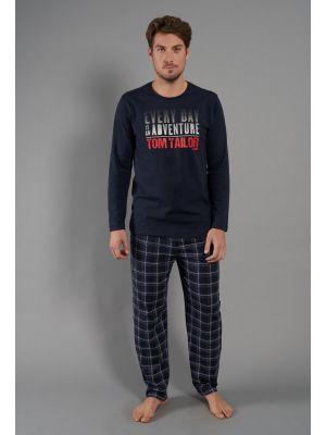 Stoere herenpyjama van Tom Tailor