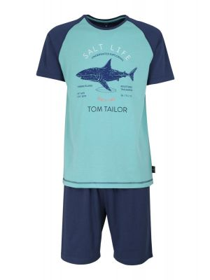 Tom Tailor heren shortama haai