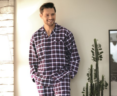 Flanellen pyjama bestellen